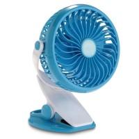 Ventilator mini ML-F168, clema pentru prindere, acumulator inclus