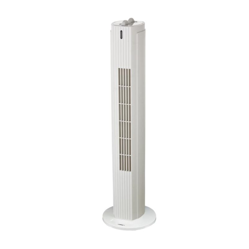 Ventilator tip turn Heller, 40 W, 3 viteze, timer, Alb 2021 shopu.ro