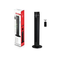Ventilator turn Zilan, putere 60 W, 3 viteze, telecomanda inclusa, display LED