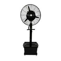 Ventilator cu pulverizare, 160 W, 66 cm, 41 l, Negru