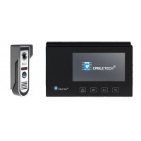 Video interfon color Cabletech, 7 inch, touch panel