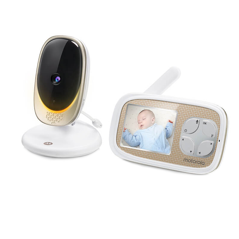 Video monitor Digital Comfort40 Connect Motorola, ecran LCD color 2.8 inch, Wi Fi, raza actiune 300 m, avertizare sonora 2021 shopu.ro