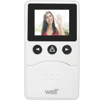 Vizor electronic pentru usa Well, ecran LCD, 2.4 inch, capacitate video
