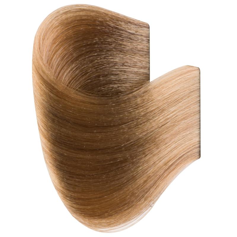 Vopsea de par permanenta 8.0 Glamour Professional, 120 ml, nuanta Light Blonde 2021 shopu.ro