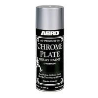 Vopsea crom tip spray Abro, 227 g