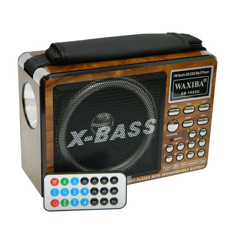 Radio MP3 portabil Waxiba XB-1022U, lanterna incorporata 2021 shopu.ro