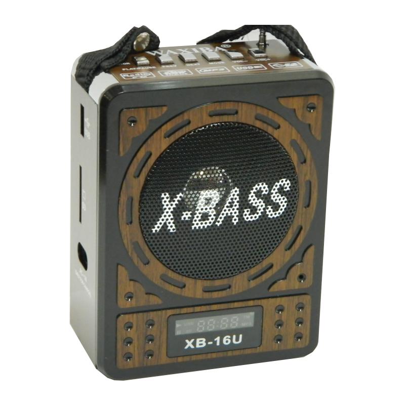 Radio MP3 Waxiba XB-16U, ceas LCD 2021 shopu.ro