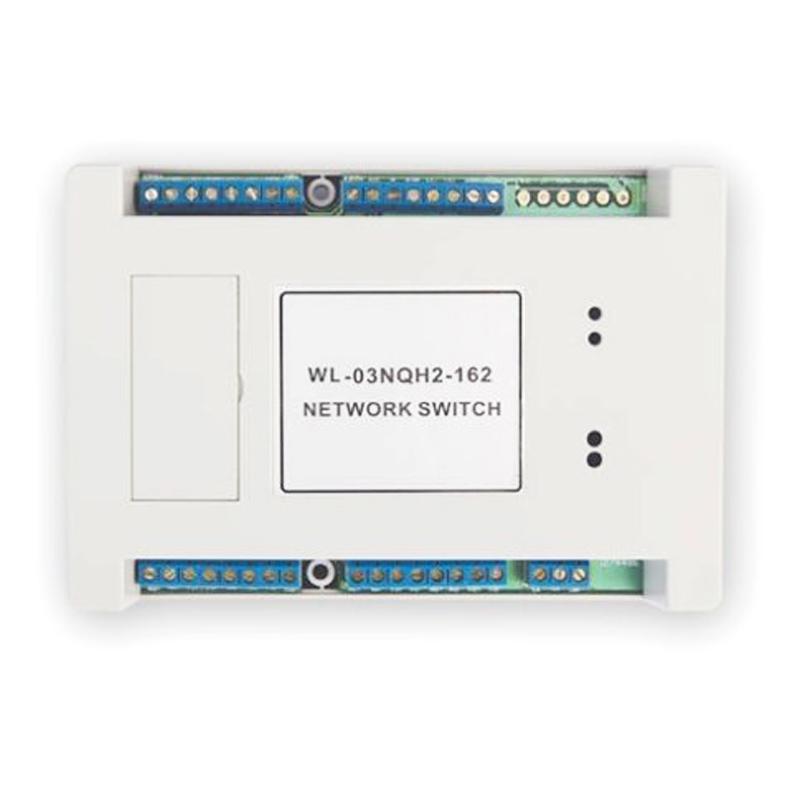 Comutator retea Genway WL-03NQH-2, pentru 2 panouri apel 2021 shopu.ro