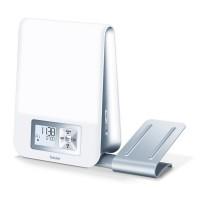 Ceas desteptator cu lampa Beurer, LCD, suport smartphone