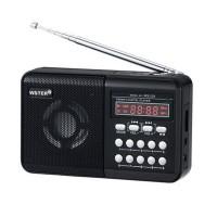Radio portabil Wster WS-229, LCD, suport Mp3/WMA