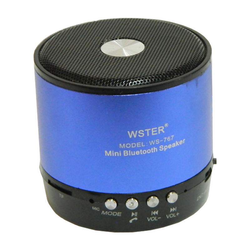 Boxa bluetooth Wster WS-767, microfon incorporat, radio FM