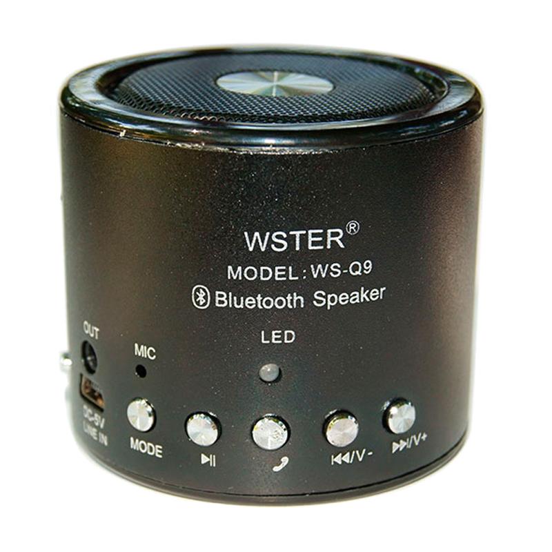 Mini boxa portabila Wster WS-Q9, suport card TF/USB