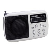 Radio portabil Wster WS-822, suport card TF/USB