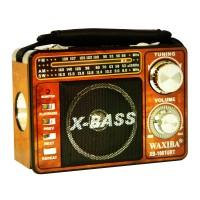 Radio portabil Waxiba XB-1061URT, suport card SD/USB