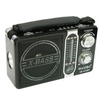 Radio portabil Waxiba XB-121URT, 3 benzi, Negru