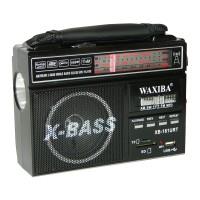 Radio portabil Waxiba XB-161URT, 3 benzi, Negru