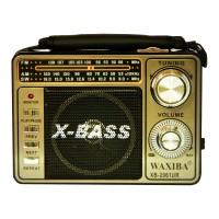 Radio portabil Waxiba XB-2061UR, 3 benzi, Argintiu