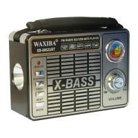 Radio portabil Waxiba XB-6062URT, suport card SD/USB