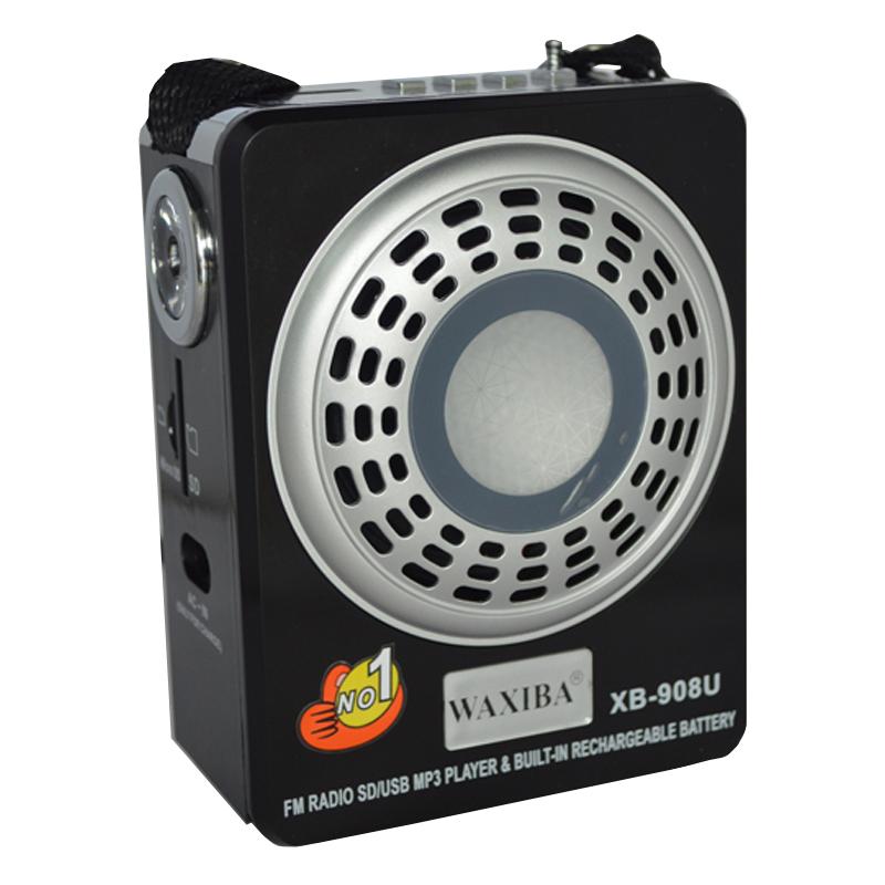 Radio Mp3 portabil Waxiba XB-908U, mufa jack 2021 shopu.ro