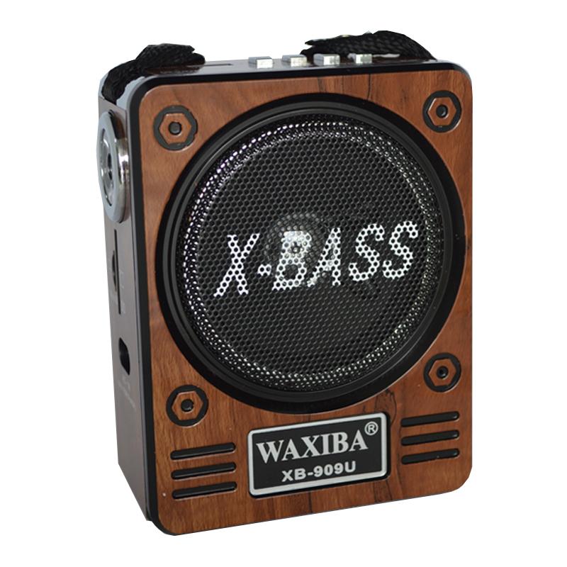 Radio Mp3 portabil Waxiba XB-909U, baterie interna 2021 shopu.ro