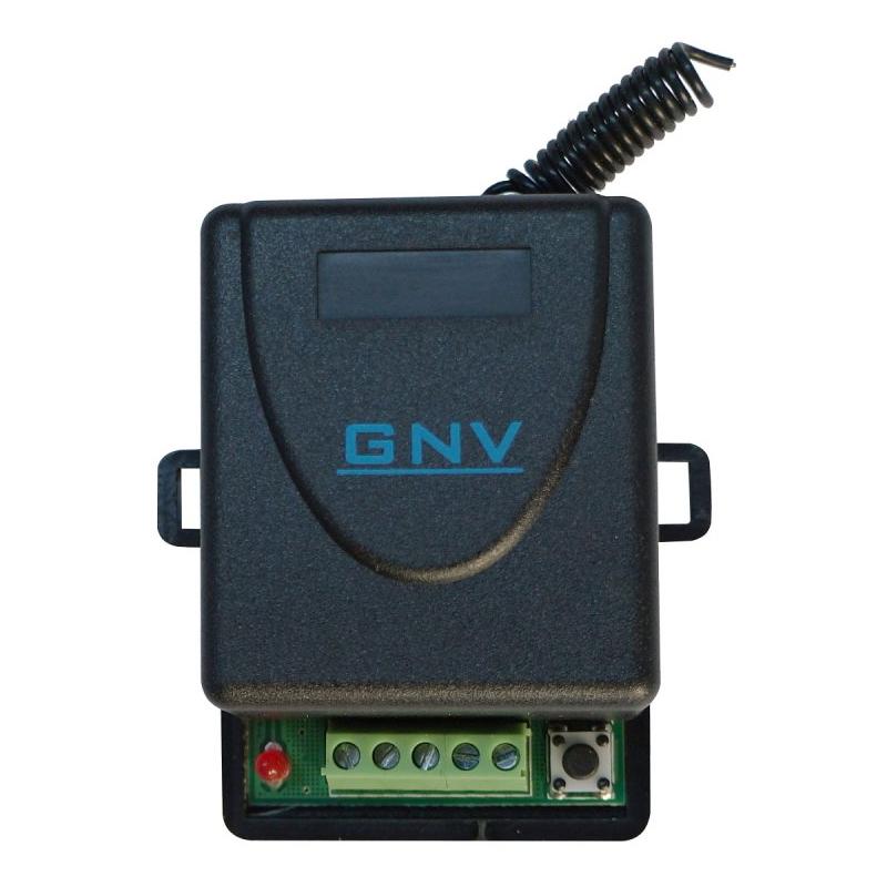 Receptor wireless GNV, 1 releu, comanda temporizata/bistabila 2021 shopu.ro