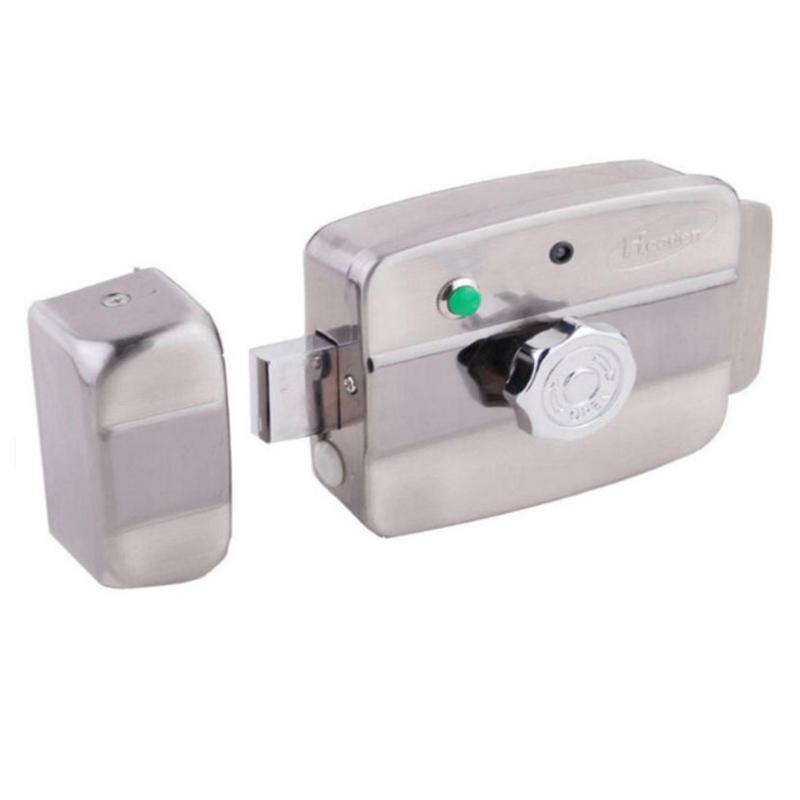 Yala electrica cu cititor de proximitate Headen EE-205, contact magnetic, telecomanda 2021 shopu.ro