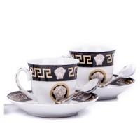 Set cafea Zillinger ZL-740B, 18 piese, 90 ml, ceramica