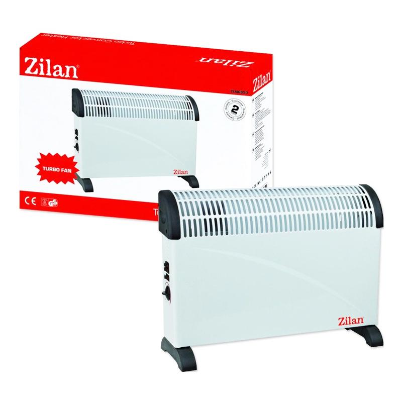 Convector Eco Turbo Zilan, 2000 W, 3 trepte