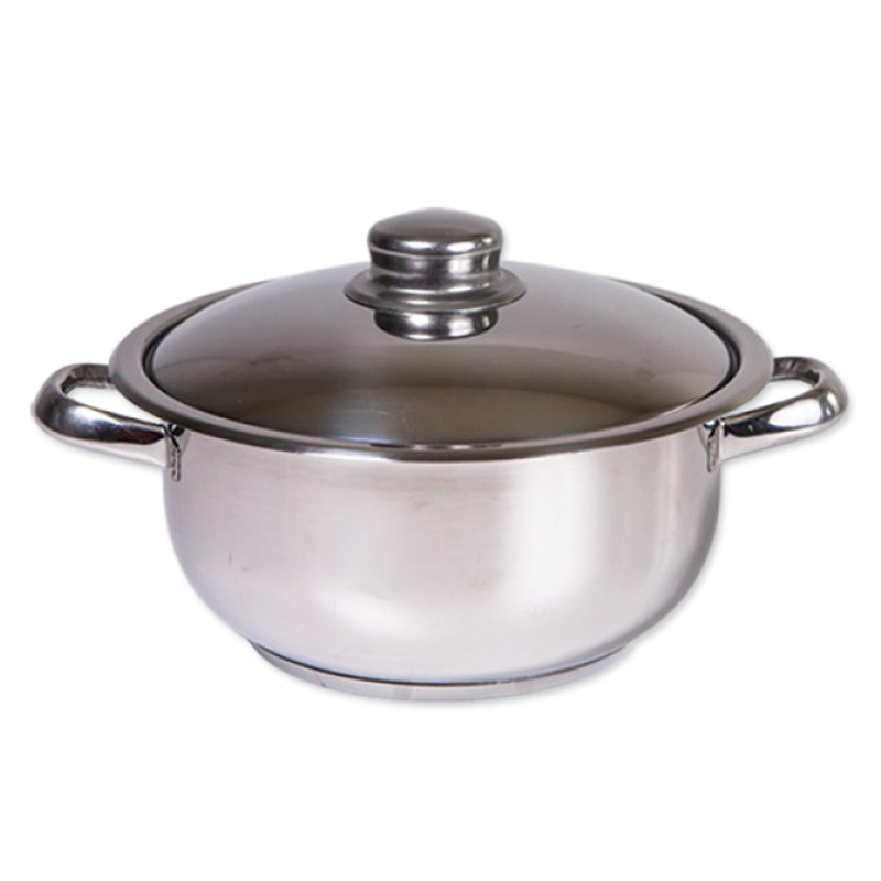 Oala inox Cocinera Zilan, 4 l, nr 22, capac inox 2021 shopu.ro