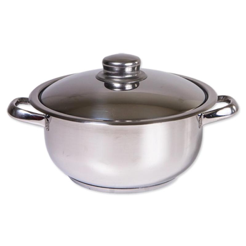 Oala inox Cocinera Zilan, 8 l, nr 26, capac inox 2021 shopu.ro