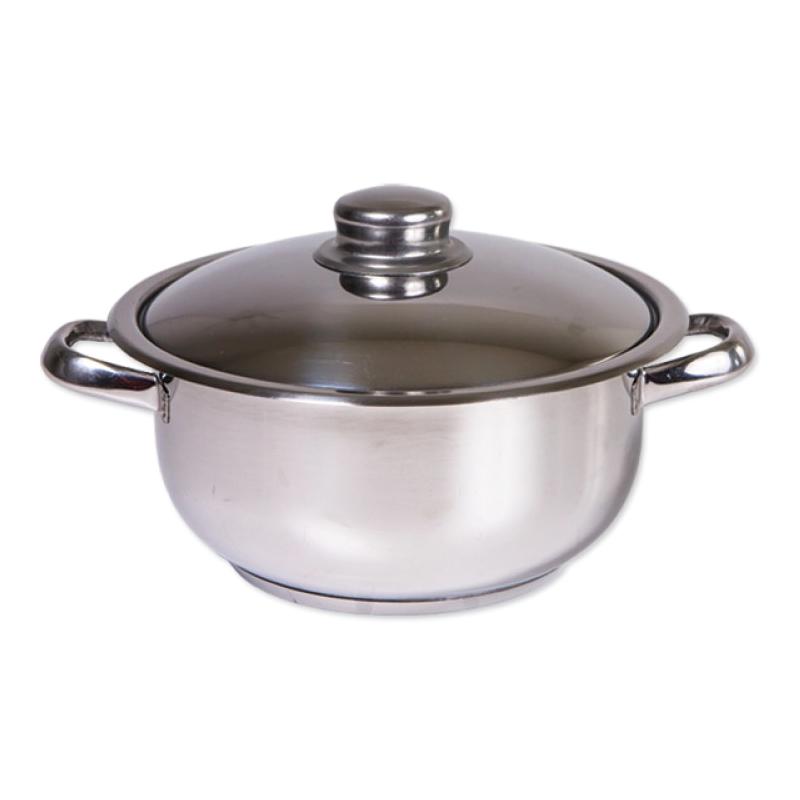 Oala inox Cocinera Zilan, 12 l, nr 30, capac inox 2021 shopu.ro