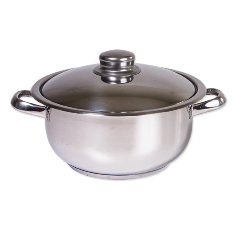 Oala inox Cocinera Zilan, 14 l, nr 32, capac inox 2021 shopu.ro