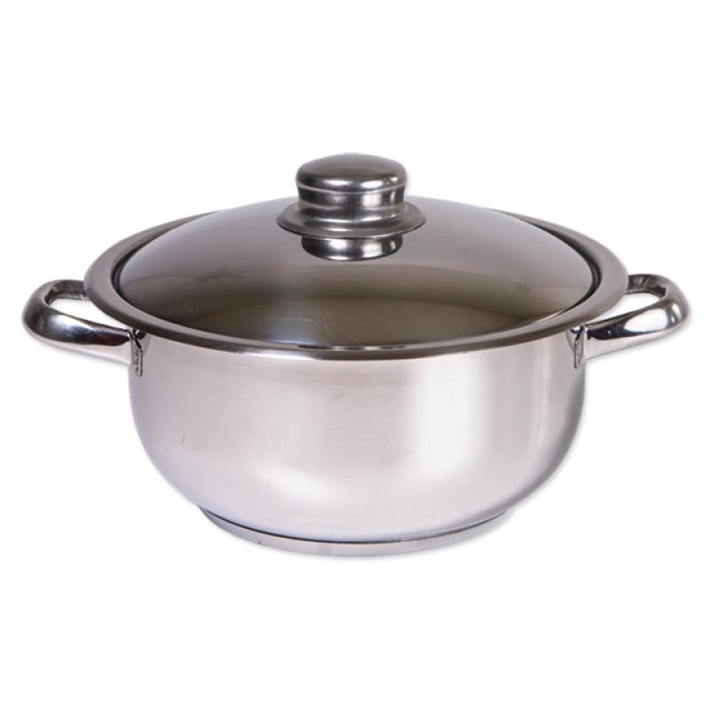Oala inox Cocinera Zilan, 16 l, nr 34, capac inox