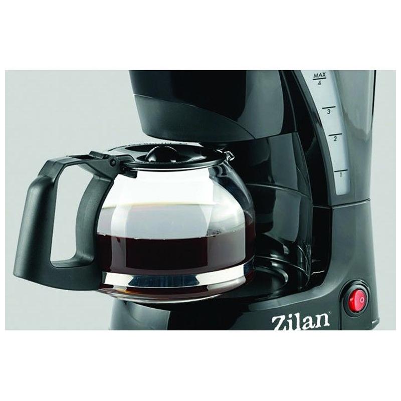 Filtru de cafea Zilan, 0.6 l, 600 W, filtru detasabil