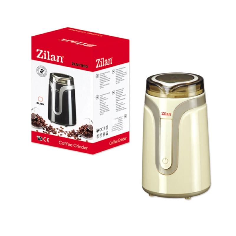 Rasnita cafea Zilan, 150 W, 50 g, Crem 2021 shopu.ro