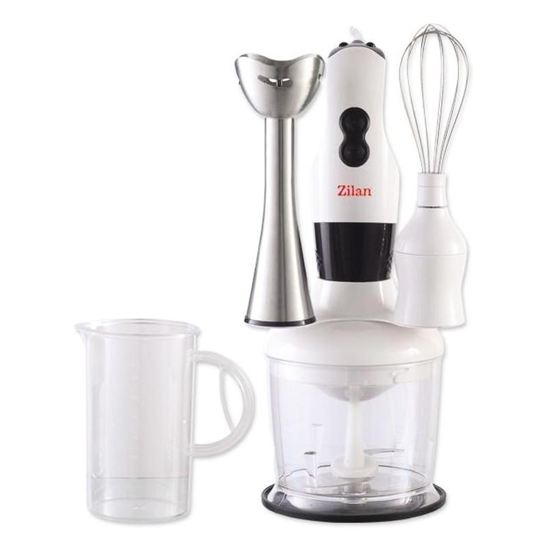 Mixer vertical Zilan, 300 W, 700 ml, Alb 2021 shopu.ro