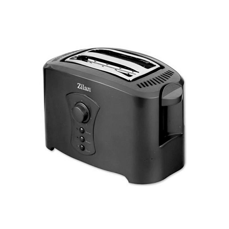 Toaster Zilan, 2 felii, 750 W, 7 nivele 2021 shopu.ro