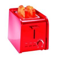 Toaster Zilan, 2 felii, 750 W, 7 nivele, Rosu