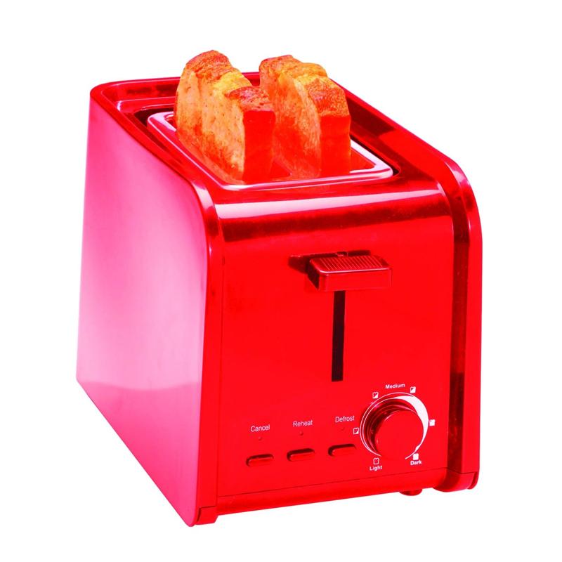 Toaster Zilan, 2 felii, 750 W, 7 nivele, Rosu 2021 shopu.ro