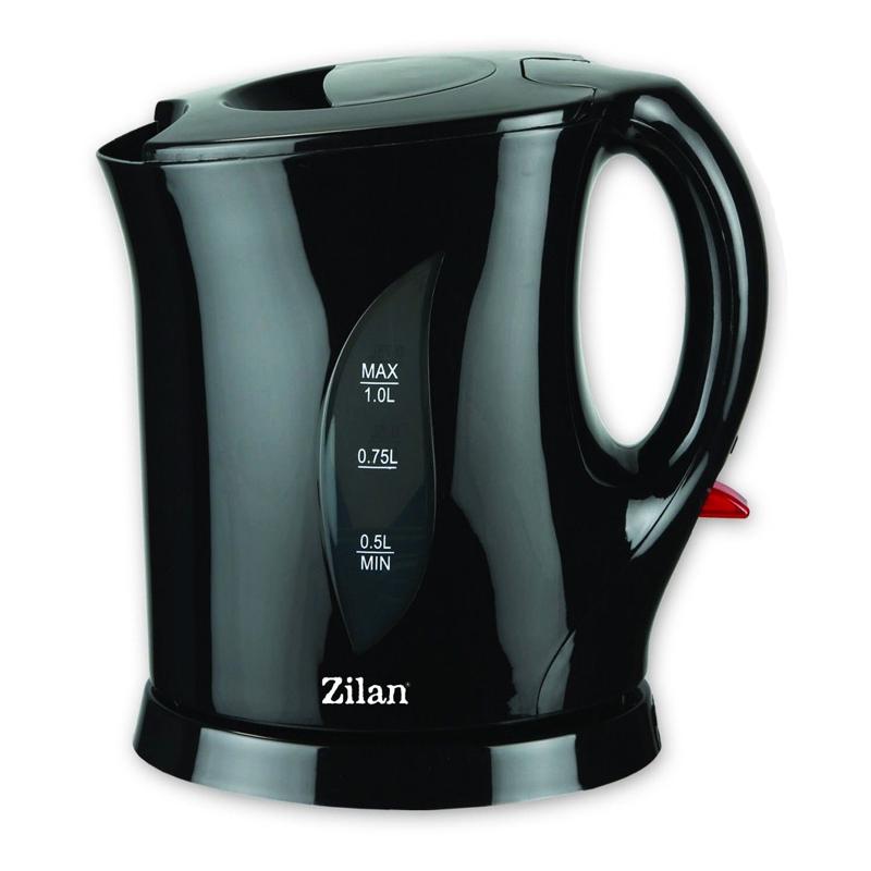 Cana fierbator Zilan, 1 l, 1650 W, Negru 2021 shopu.ro
