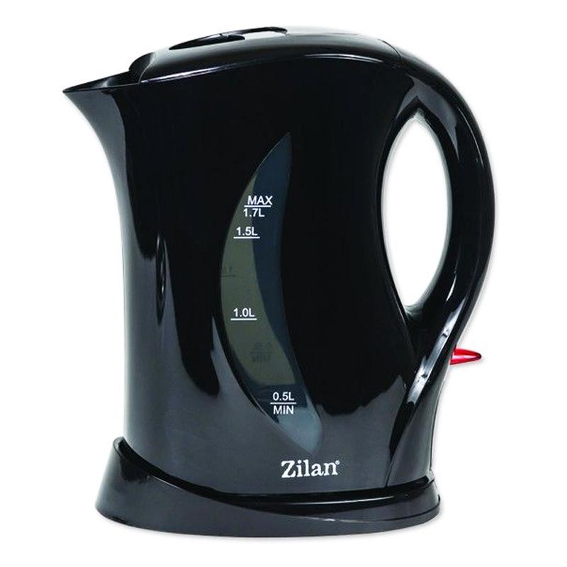 Fierbator electric Zilan, 1.7 l, 2200 W, Negru 2021 shopu.ro