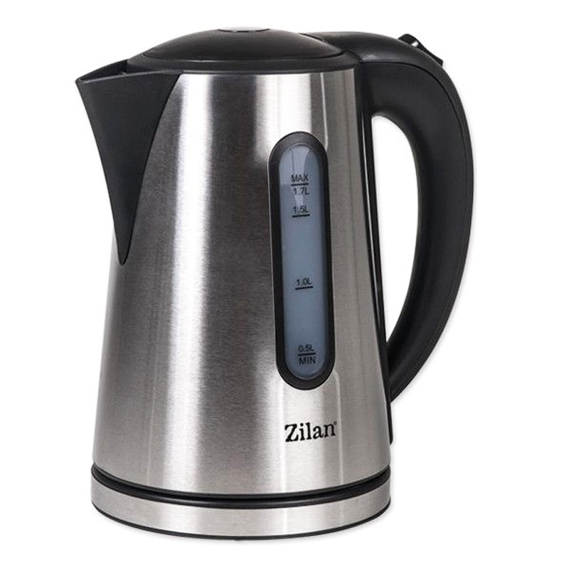 Fierbator electric Zilan, 1.7 l, 2200 W, Inox 2021 shopu.ro