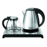 Set fierbator ceai/cafea Zilan, 2200 W, suport inox