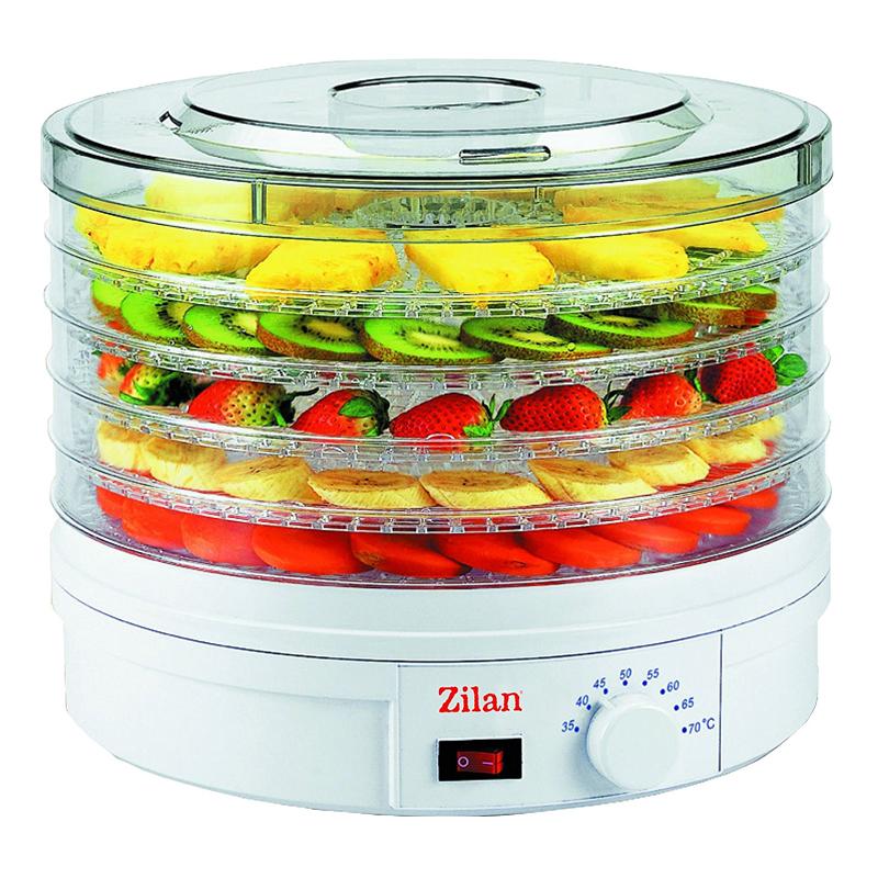 Deshidrator alimente Zilan, 245 W, 5 tavi 2021 shopu.ro