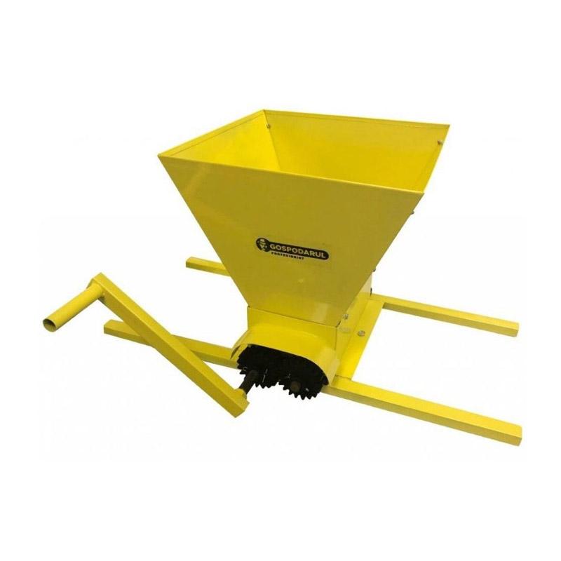 Zdrobitor manual de struguri Gospodarul Profesionist, 20 l, 500 kg/h, 1000 x 520 x 360 mm imagine