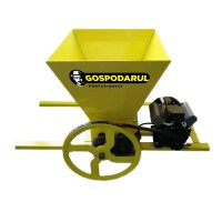 Zdrobitor electric de strugur Gospodarul profesionist, 750 W, 500 kg/h, 1400 RPM