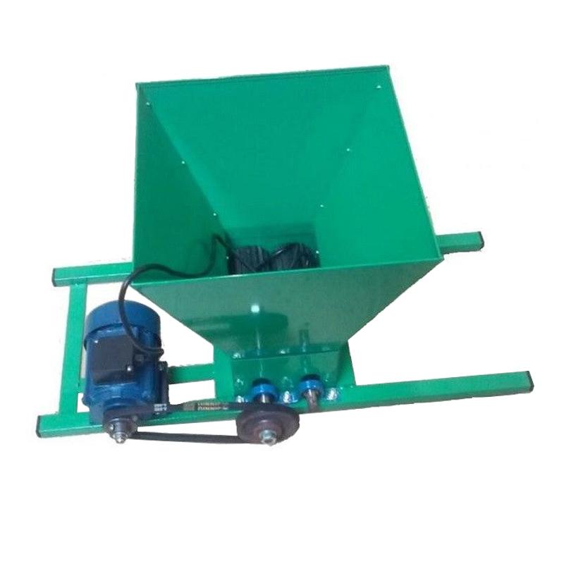 Zdrobitor electric pentru struguri Craft Tec, 1100 W, cuva 20 l, 300 kg/h imagine