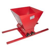 Zdrobitor manual de struguri Fermier HGP-50, 300-500 kg/h, cuva 25 l, role poliamida