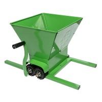 Zdrobitor manual de struguri Micul Fermier, cuva 25 L, 350 kg/h