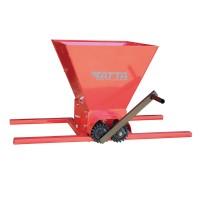 Zdrobitor manual de struguri Tatta, 300 kg/h, cuva 20 l, cadru metalic